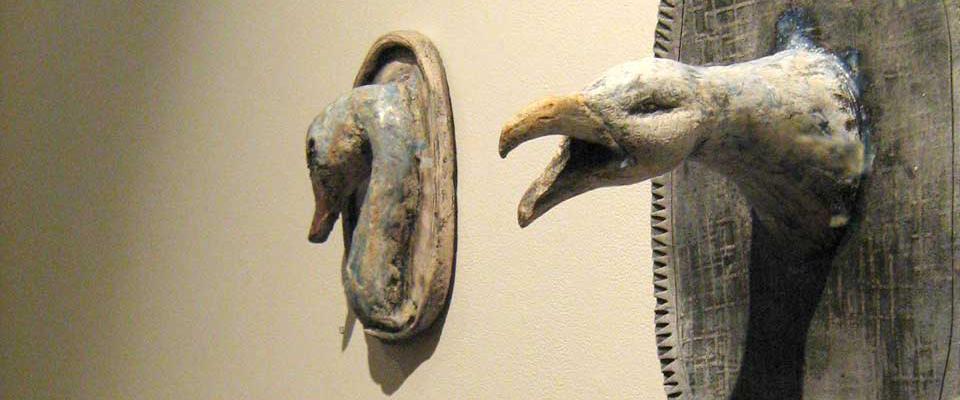 Dawn Chorus - ceramic, 2010